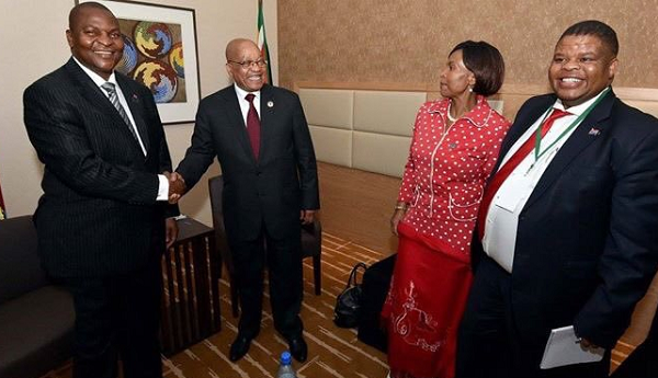 South Africa, Central Africa Republic vow to grow ties