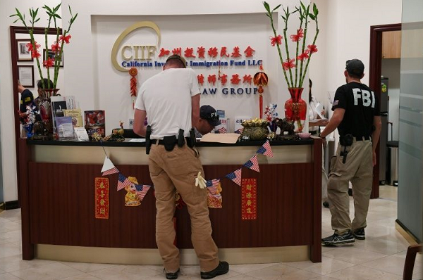US authorities bust visa fraud scheme for wealthy Chinese