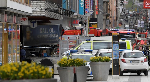 Death toll of truck attack in Sweden rises to 5
