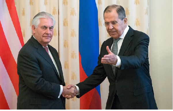 Secretary of state says US wants to work with Russia