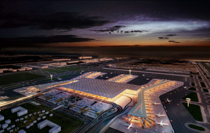 New Istanbul airport 'will help aviation industry'