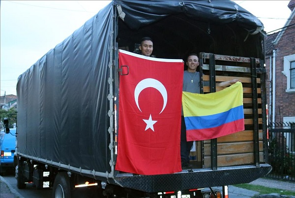 Flood-hit Colombia receives Turkish agency's aid