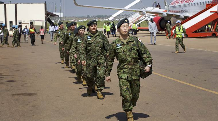 Japanese troops quit UN peacekeeping mission in S.Sudan