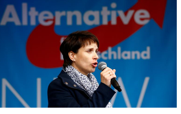 Germany's right-wing AfD leader Petry quits party