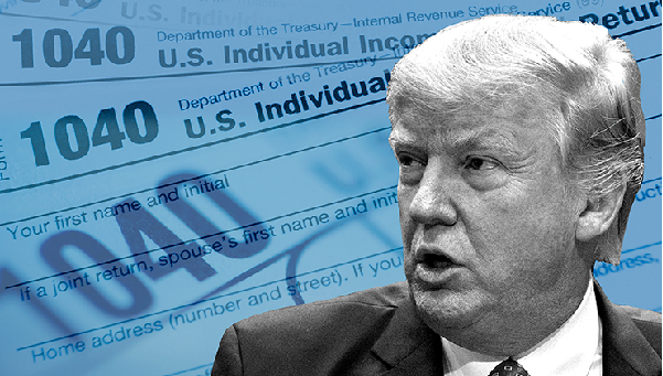 Trump signs executive orders for tax overhaul