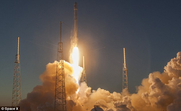 SpaceX makes first US military launch, then lands rocket again