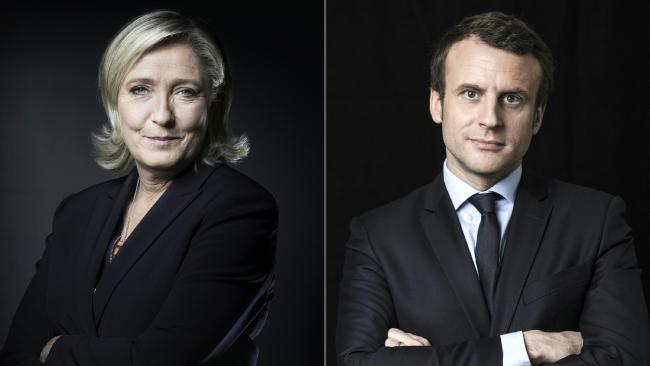 France's Le Pen, Macron face opposition on fractious May 1