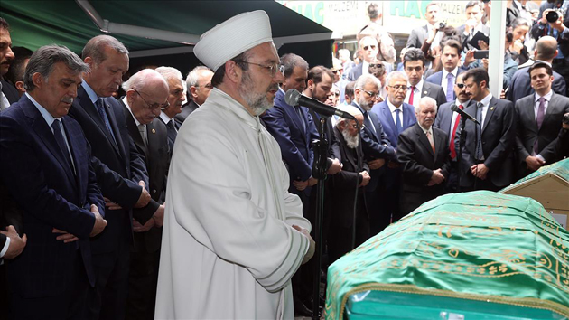 Ahmet Hamdi Gul on his last journey