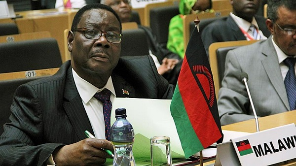 Malawian president calls for African unity