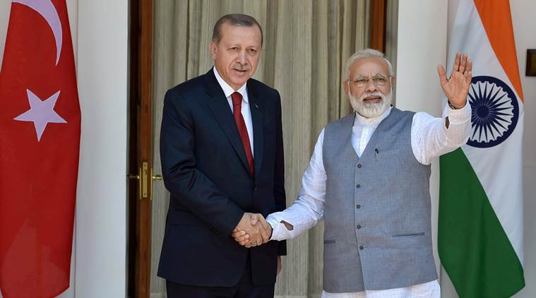 India-Turkey strengthen the bilateral relations ties