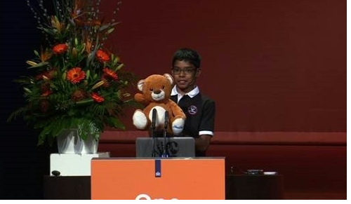 Cyber kid stuns experts showing toys can be 'weapons'