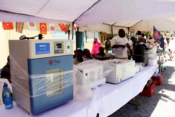 Turkey donates medical equipment to Kenyan hospital