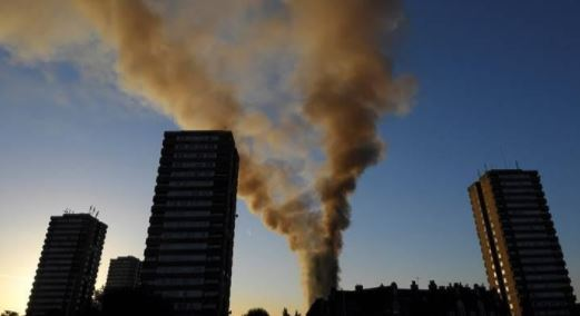 London fire death toll climbs up to 17