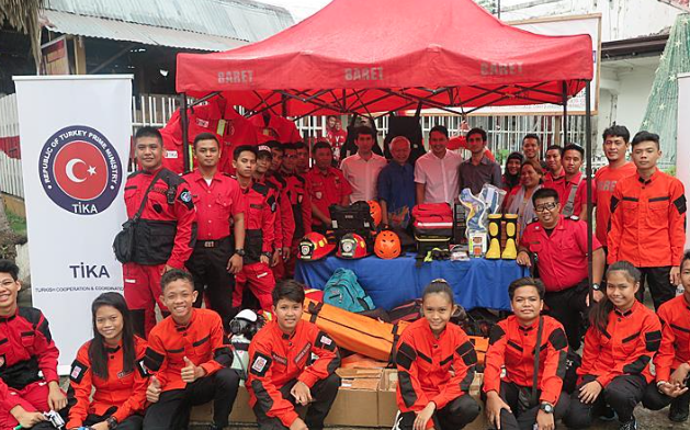 Turkey donates search, rescue equipment to Philippines