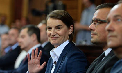 Serbia's new PM promised new cooperation with Albanians