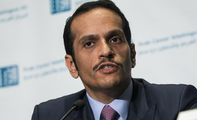 Qatar FM arrives in Kuwait to give reply on demands