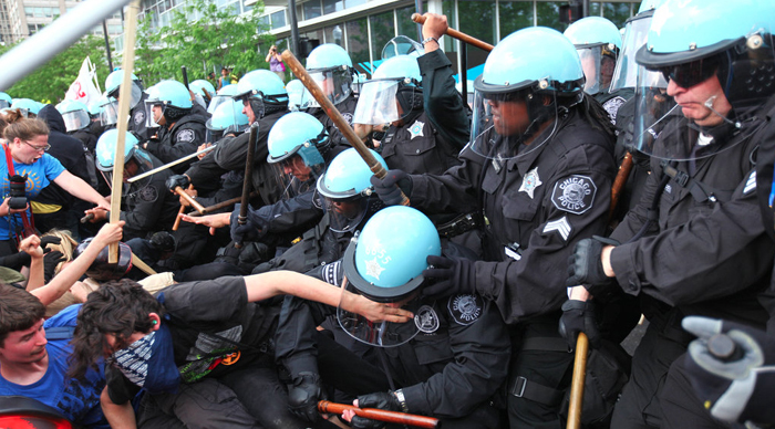 International summits marked by violence