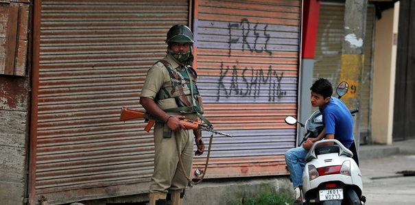 Disputed Kashmir shuts down, protests erupt