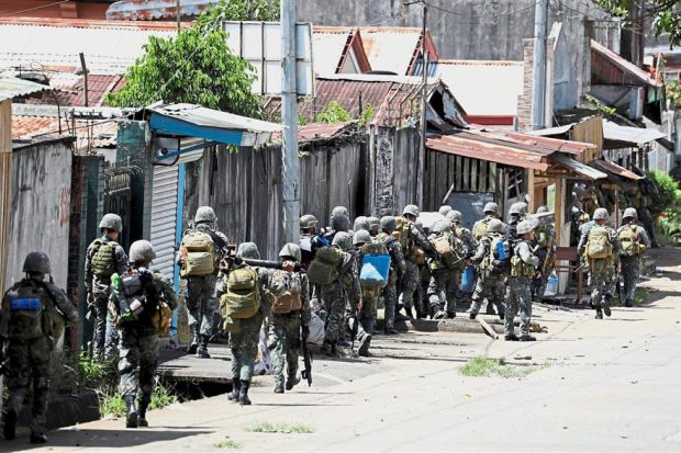 54 buildings retaken from Maute in Philippines Marawi