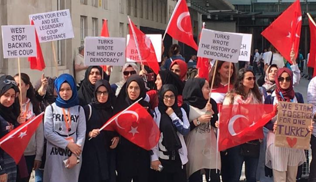 PKK supporters target Turks at July 15 event in London