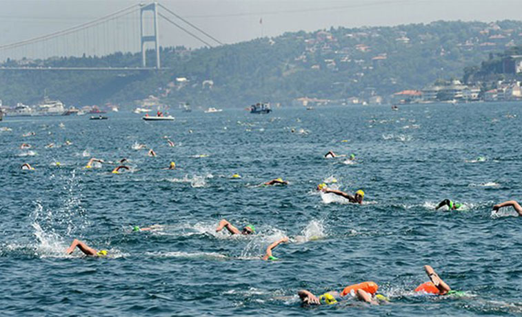 Bosphorus swim named world's best open water race