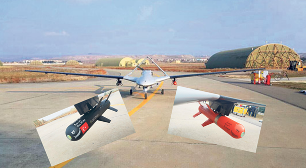Turkey successfully tests locally made drones