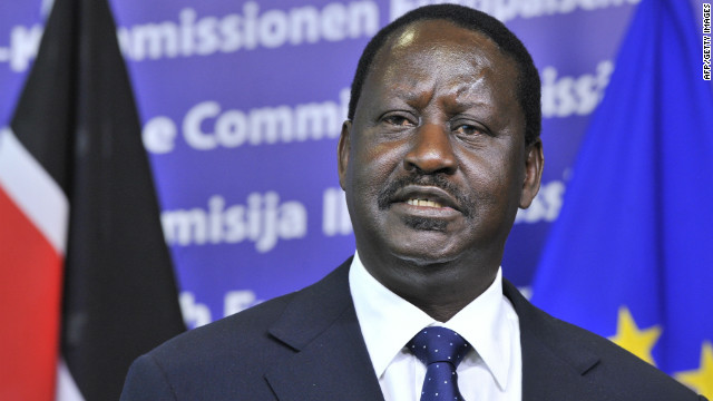 Kenya's Odinga mulls next move on disputed election
