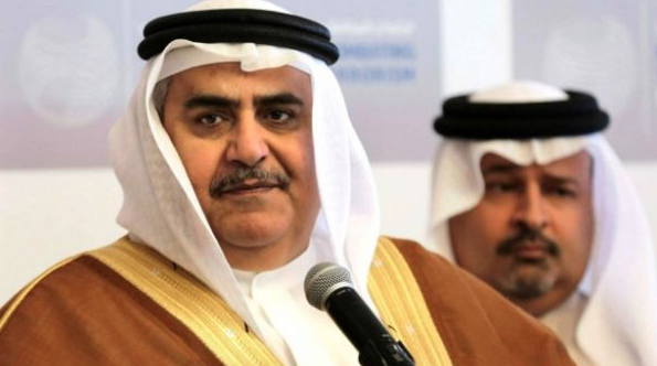 Bahrain FM arrives in Iraq amid Gulf crisis