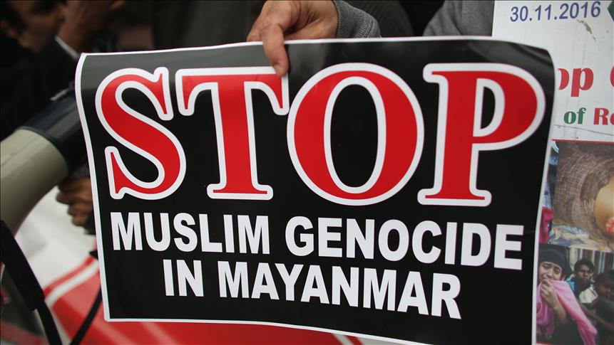 Rohingya group says Myanmar engaged in 'genocide'