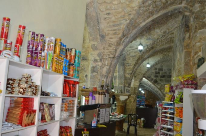 The Store of Emad from Jerusalem Worth Only Blood and Nothing Else
