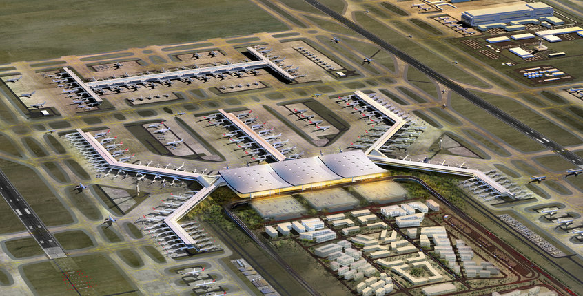 Istanbul's 3rd airport to welcome 1st plane by Feb 2018