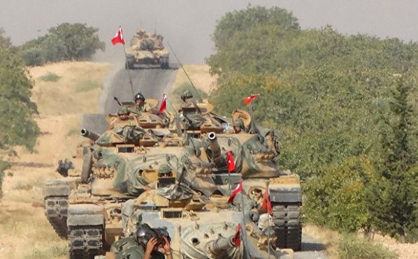 Turkish troops receive warm welcome in Syria's Idlib