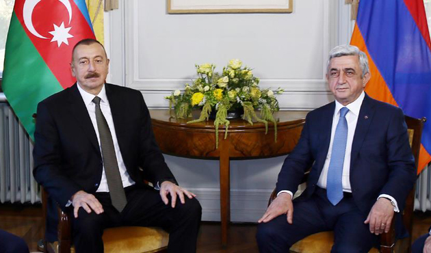 Azerbaijani, Armenian leaders discuss Karabakh dispute