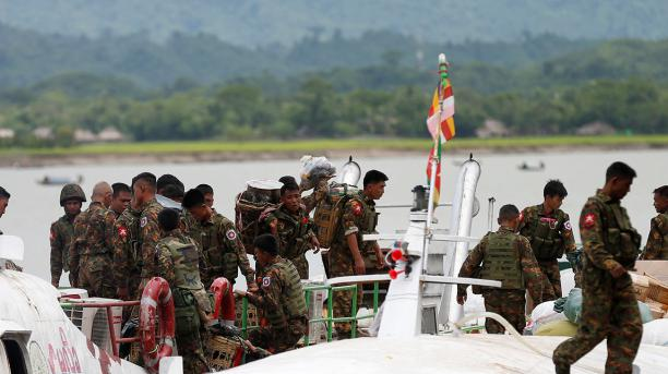 UK says Myanmar army behind 'systematic violence'