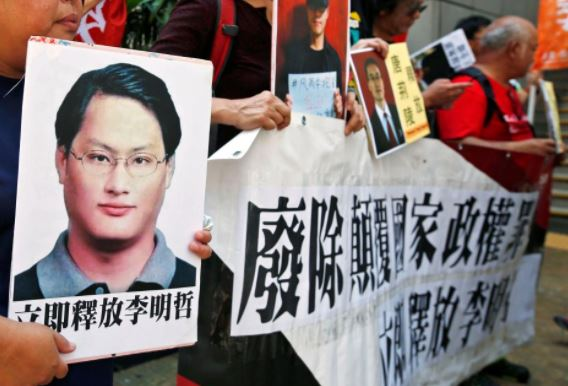 China releases activist who supported HK democracy