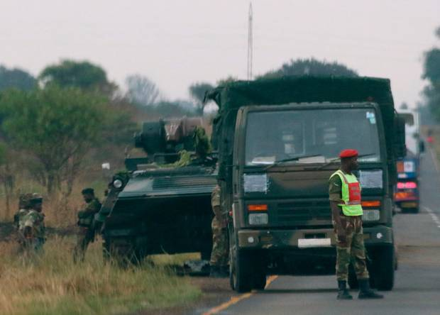 Zimbabwe's 'coup' leader appointed new vice president