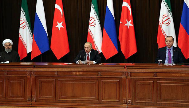Middle Eastern media reacts to Syria summit in Sochi