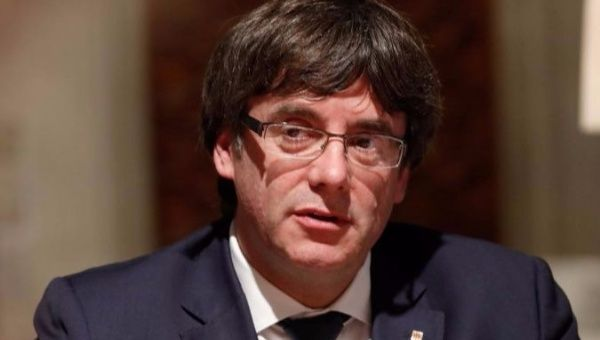 Puigdemont returns to Belgium
