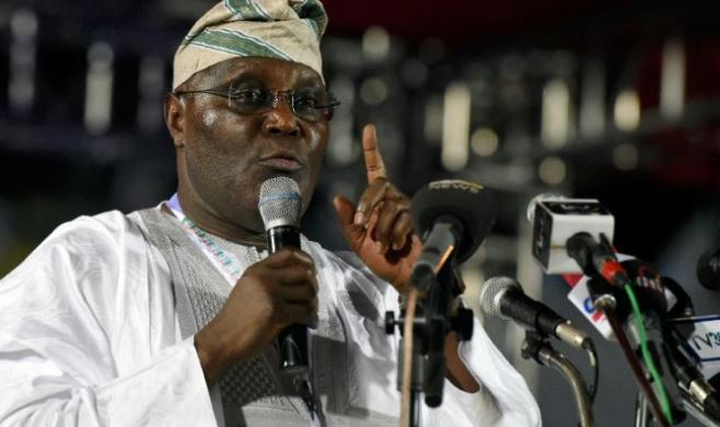Nigeria's former vice president joins opposition party