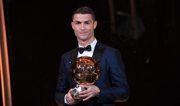 Ronaldo wins his 5th Ballon d'Or
