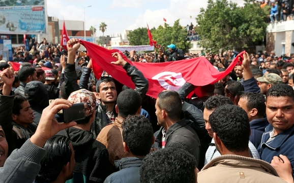 Tunisians hit streets to protest US Jerusalem move