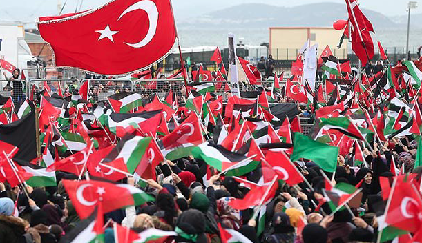 Thousands in Istanbul decry US move on Jerusalem