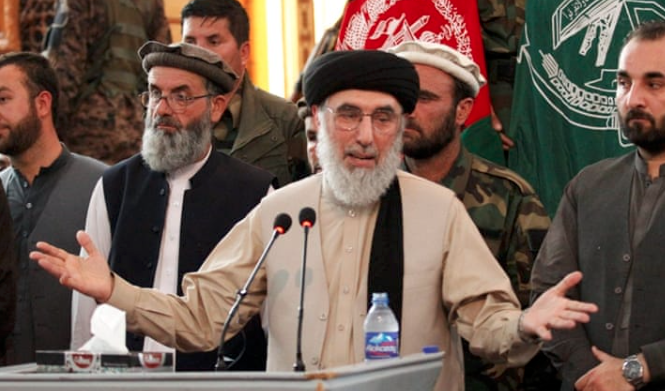 Hekmatyar holds massive political rally in Afghanistan