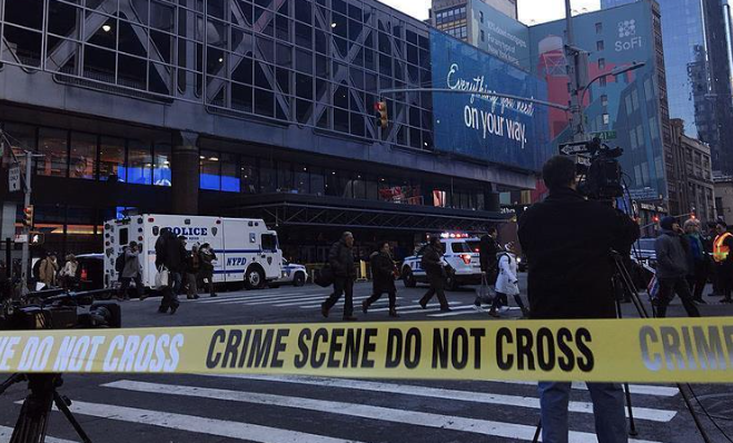 NY attack suspect's family 'outraged' by police actions