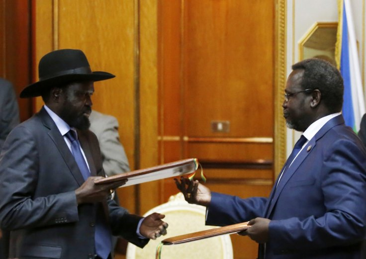 South Sudan's warring parties agree cease-fire deal