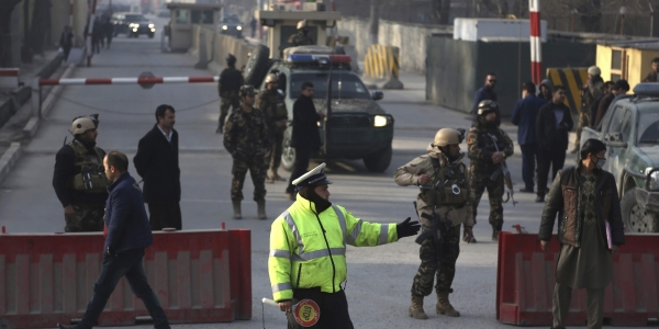 Public office in Afghanistan comes under armed attack