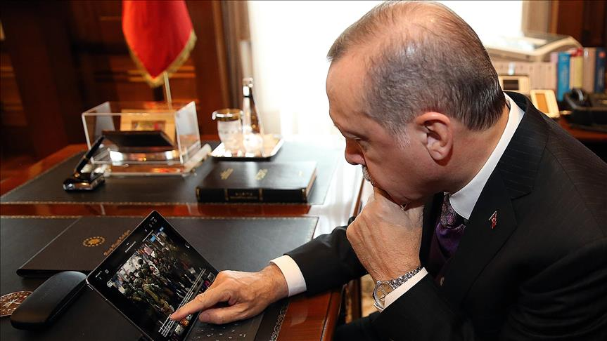 Erdogan chooses Palestinian image for photo competition