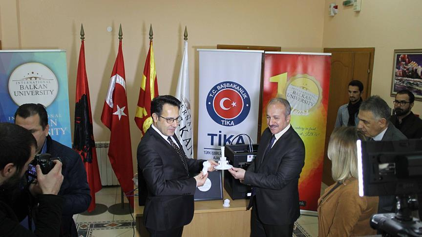 Turkish agency supports Macedonian university