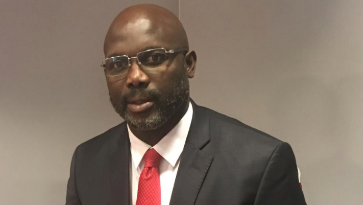 Weah declared Liberia's 24th president