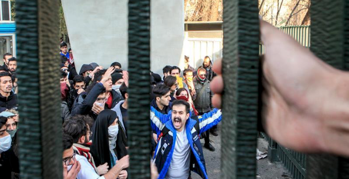 200 protesters held during demonstrations in Iran